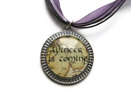 Game of Thrones - Stark necklace